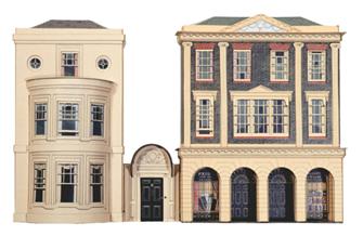 Regency Period Shops & House Building Kit