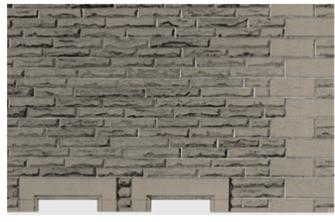 Building Papers - Grey Sandstone Walling