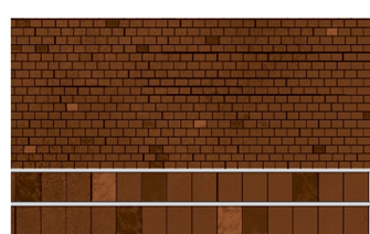 Building Papers - Red Tiles