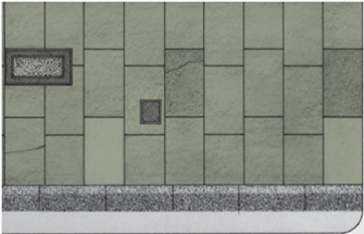 Building Papers - Grey Paving Stones