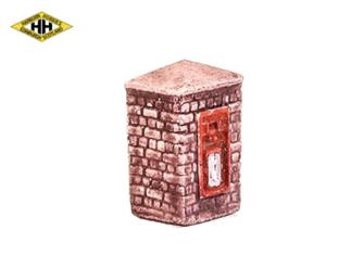 Post Box in Brick Column