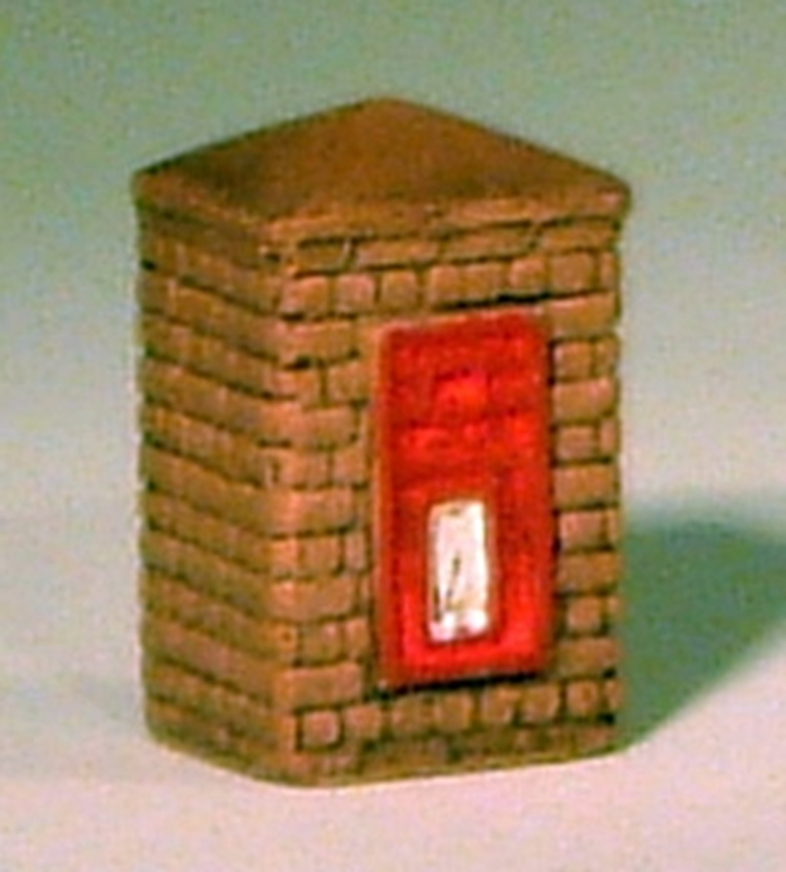 Post Box in Brick Column