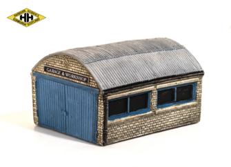 Garage/Workshop, corrugated roof