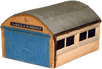 Garage/Workshop, corrugated roof