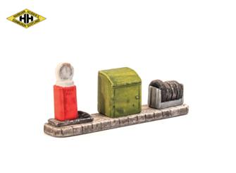 Garage Accessories - oil, tyres, 'free air'