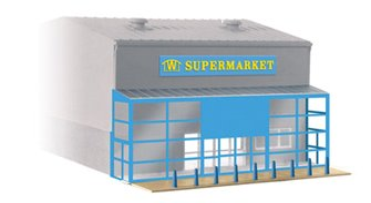 Wills Kits SSM310 Modern Supermarket Frontage kit