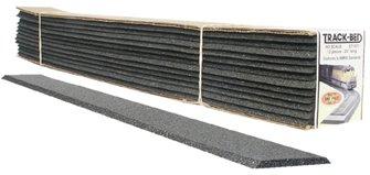 O Scale Trackbed Strips Std 12/Pkg