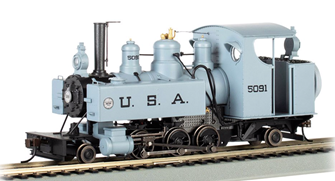 USA #5091 2-6-2T Baldwin Class 10 Trench Engine