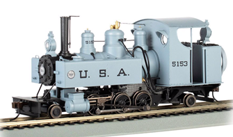 USA #5153 2-6-2T Baldwin Class 10 Trench Engine
