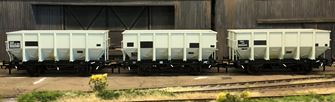 BR 24.5T HOP24/HUO Coal Hopper - Post 1965 Grey TOPS- Pack H