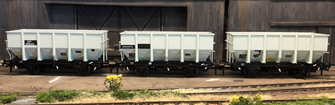 BR 24.5T HOP24/HUO Coal Hopper - Post 1965 Grey TOPS- Pack J