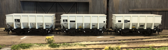 BR 24.5T HOP24/HUO Coal Hopper - Post 1965 Grey TOPS- Pack F