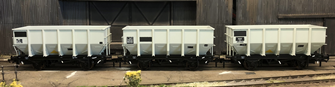 BR 24.5T HOP24/HUO Coal Hopper - Post 1965 Grey TOPS- Pack K