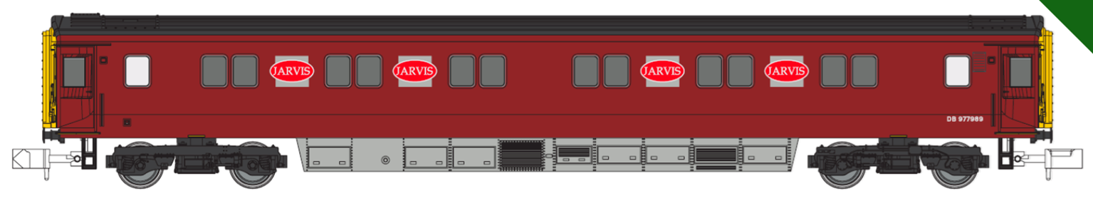 Jervis Departmental MK3 Sleeper Coach No.DB 977989