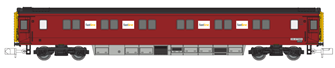 Serco Departmental  MK3 Sleeper Coach No.DB 977989