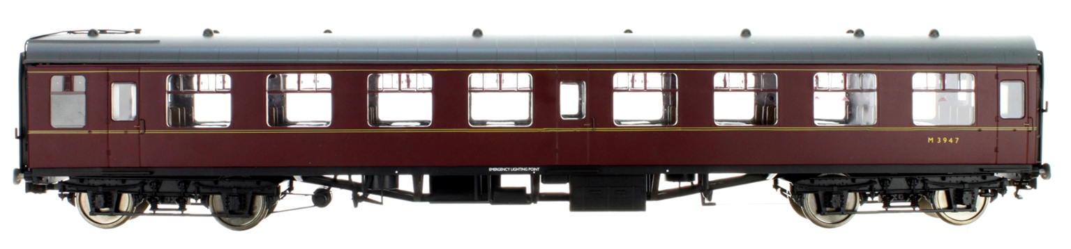 BR MR Maroon MK1 SO Coach No.M3947
