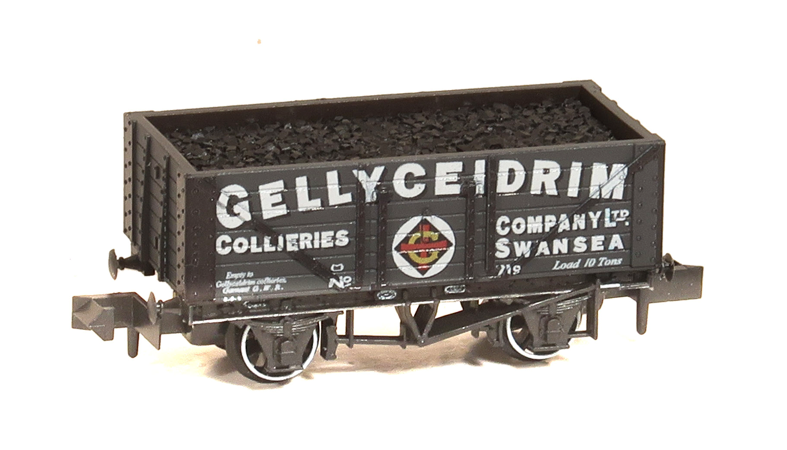 Gellyceidrim Collieries Co Ltd 7 Plank Wagon