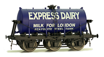 6 Wheel Milk Tanker Express Dairies 4405