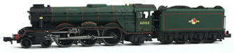 A3 Flying Scotsman 60103 BR Green L/Crest DCC Fitted