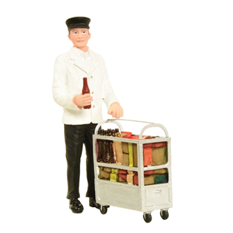 Bachmann G scale Service Person with Minibar