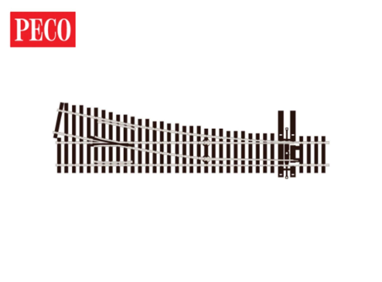 SLE8352 HO Streamline 83' Line No.5 Left Hand Turnout (Electrofrog)