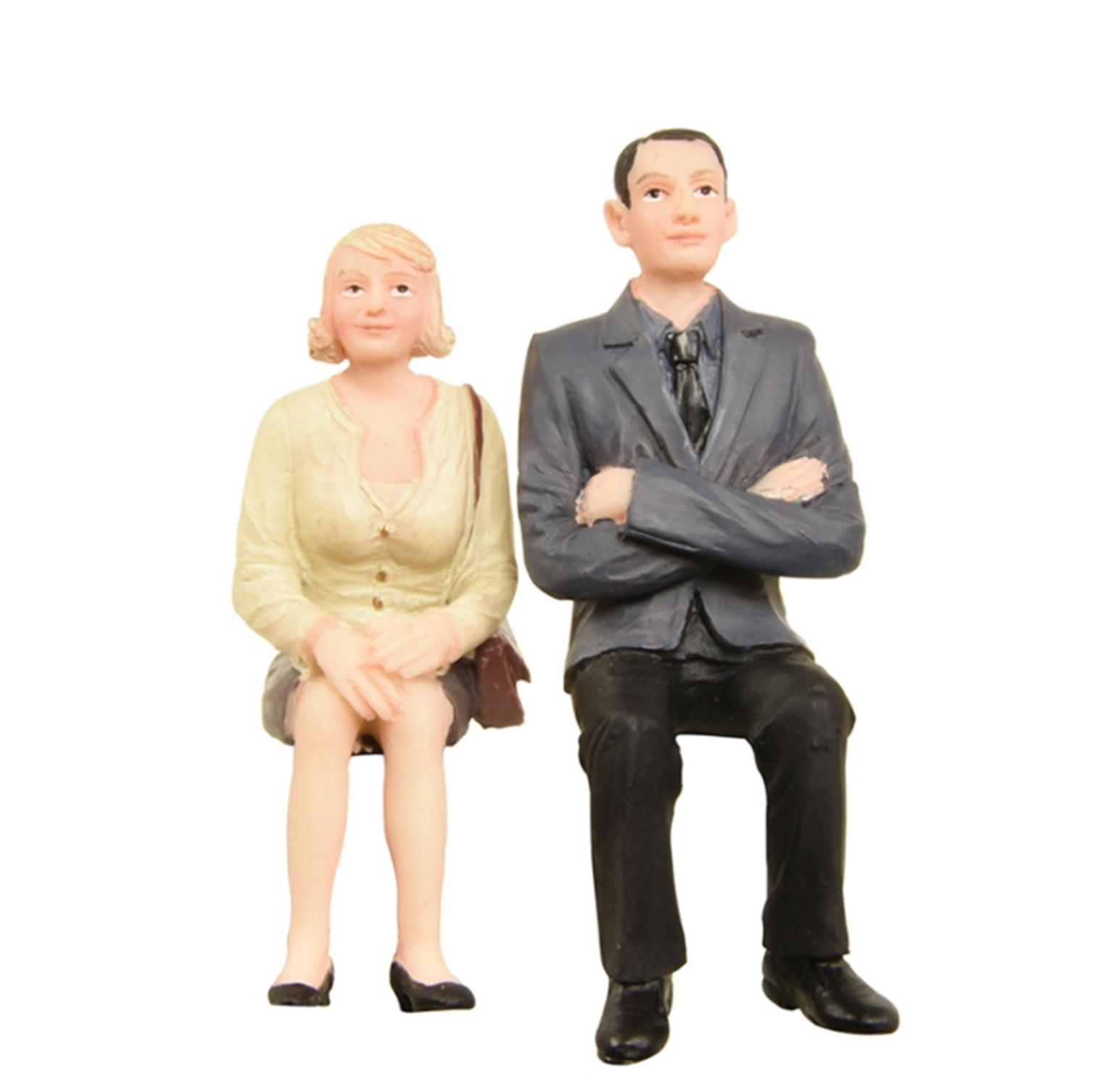 Bchmann G scale Sitting Man and Woman