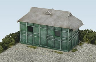 Taxi Mens' Rest Hut Building Kit