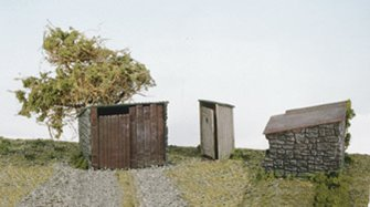 Grotty Huts & Privy Kit