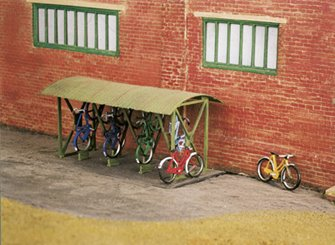 Bicycle Shed & Bicycles Kit