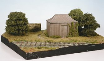 Pagoda Building, Corrugated Iron type hut kit