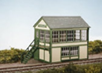 Timber Signal Box Kit