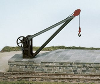 Goods Yard Crane, with fixed timber jib