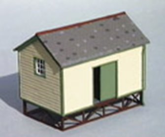 Goods Yard Store, timber built type kit