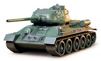 1/35 Military Miniature Series No.138 Russian Tank T34/85