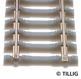 TILLIG 85134 470MM CONCRETE SLEEPER FLEXIBLE TRACK LENGTH