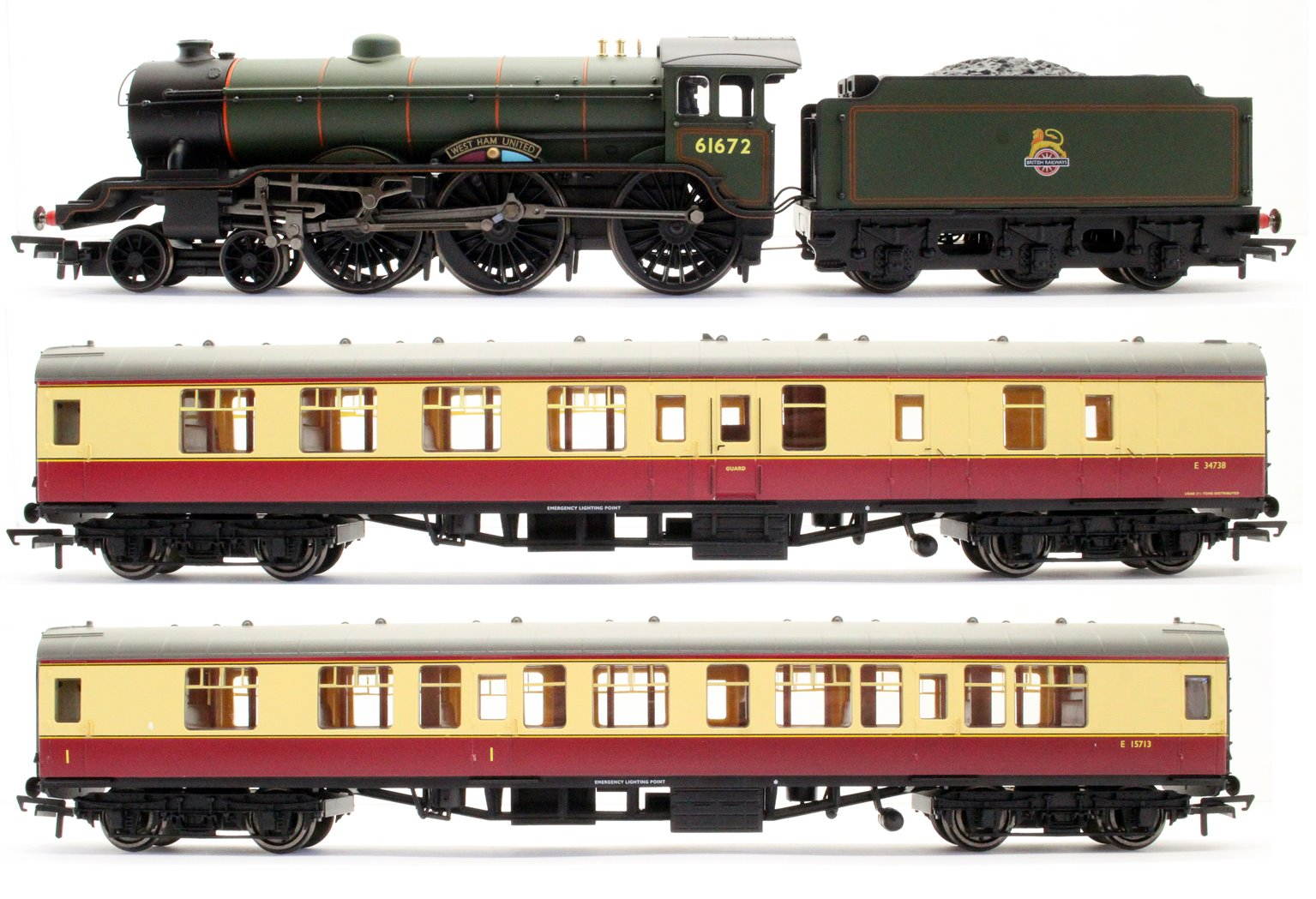 East Coast Express Train Set