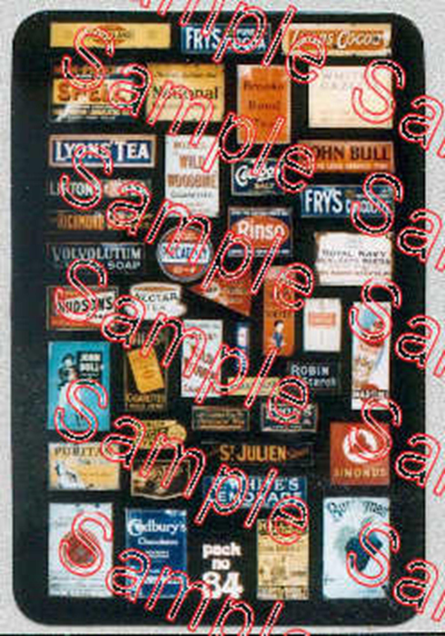 Enamel Advert Signs 4