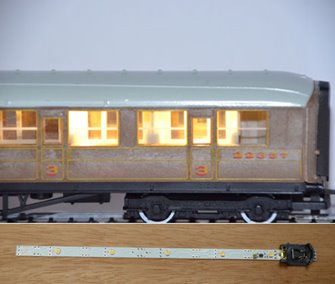 CL2 Automatic Coach Lighting - Warm White/Standard