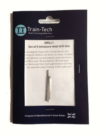 Miniature Drill Bit Set