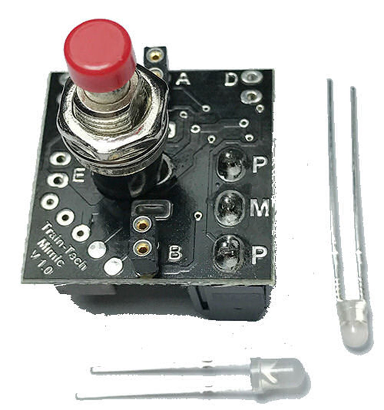 Mimic With Push Buttom Switch/Plug In LEDs
