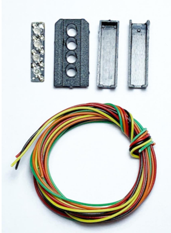 Signal Heads Kit 4 Aspect Outer Distant (R/Y/G/Y)