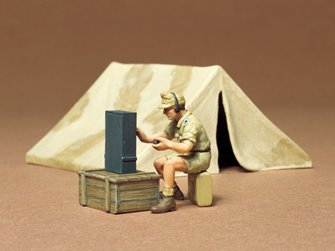 1/35 Military Miniature Series no.74 Tent Set