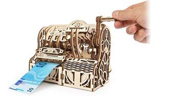 Mechanical wooden Model Cash Register