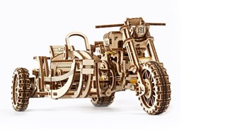 Scrambler UGR-10 Motor Bike with sidecar