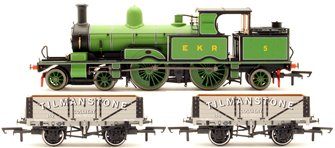East Kent Light Railway EKR Anniversary Set (Containing Adams Radial + Wagons)