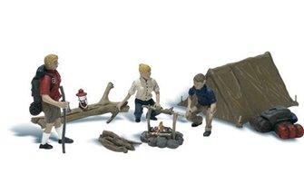 Woodland Scenics WA2199 N Gauge Figures - Campers