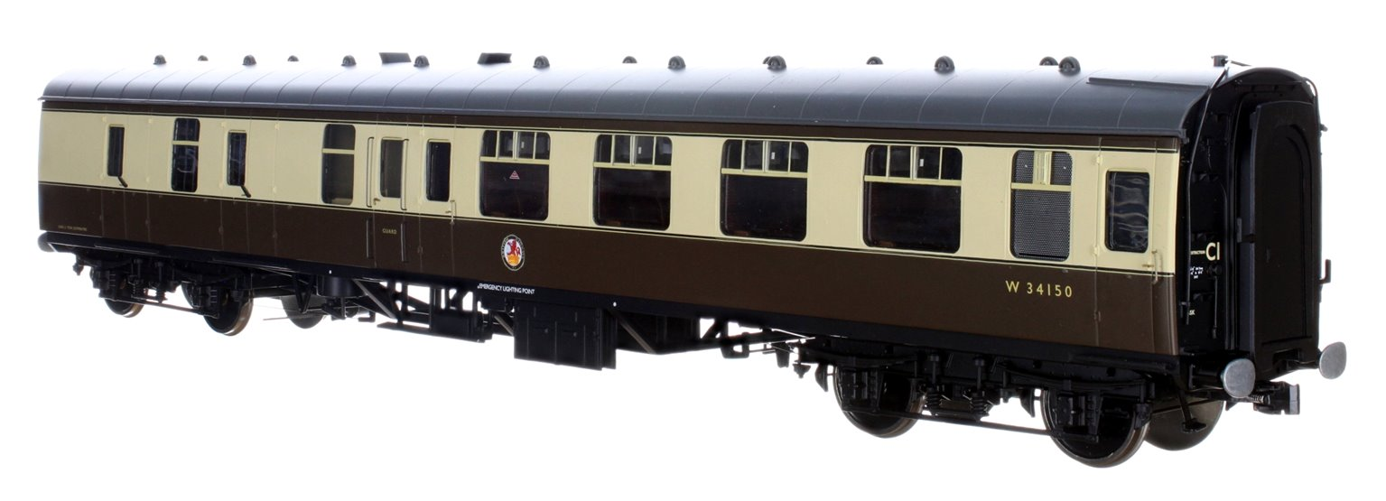 BR WR Chocolate & Cream BSK MK1 Coach W34150 (DCC Fitted)