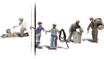 Scenic Accents - City Workers - HO Scale