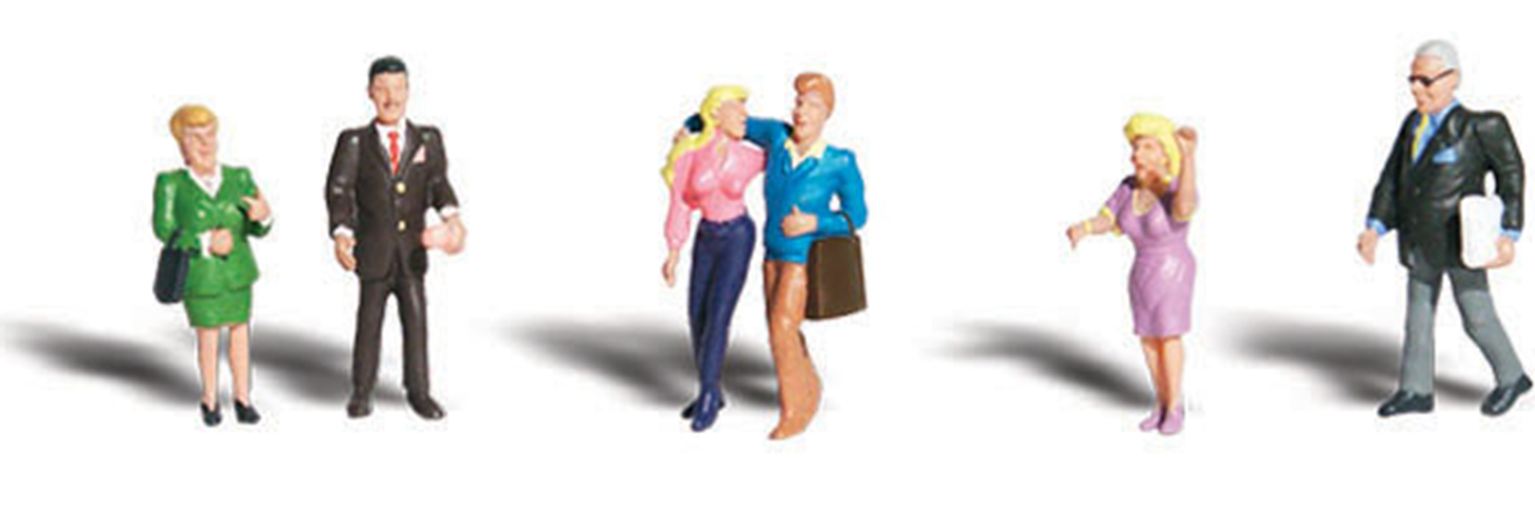 Scenic Accents Figures - People Talking