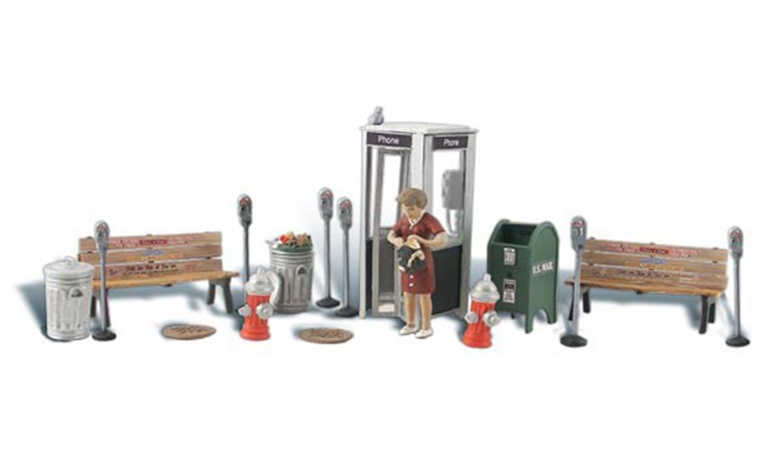 Scenic Accents - Street Accessories - HO Scale